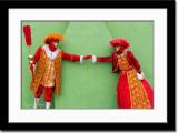Masked Couple