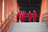 Cantilever bridge Phunakha Dzong