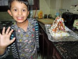 First gingerbread house!