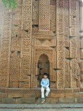 At the Qutab Minar