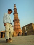 Almost as tall as the Qutab Minar