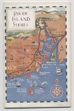 Rhode Island Travel Guide with cover and interior drawings by Held