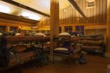 hut bunks