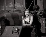 Candice on Truck_BnW_rp.jpg