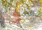 Riverside Watercolour