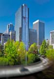 Seattle downtown scene