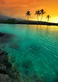 Sunset at Kiholo Bay