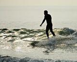 Malibu Beach surfer