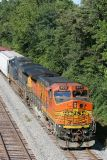 SB on the siding at Oaktown