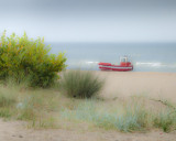 Red boat Sopot