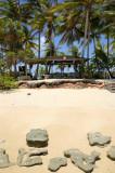 Beach shack erosion