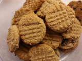 20121017_185124 Whole Wheat Peanut Butter Cookies