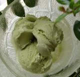 Homemade Green Tea Ice Cream