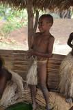 Yakel boy wearing a mamba