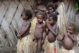 Yakel children, Louinio Nambas Kastom Village, Tanna