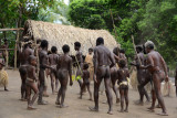 Yakel men and boys dance, Louinio Nambas Kastom Village, Tanna
