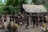 Traditional Yakel tribe dance demonstration, Tanna