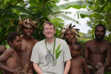Me with the men and boys of the Yakel tribe