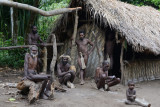 Men's hut, Yakel village, Tanna
