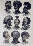 Traditional warrior hairstyles in the 19th Century