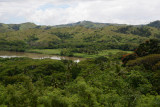 View from the Tavuni Fort visitor's centre with the Sigatoka River