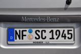 German License Plate - Nordfriesland