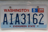 License Plate - Washington State