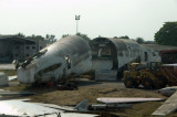 The DC-10 had been rotting in Abidjan since 2003