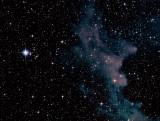 NGC 1909, la Tête de la Sorcière