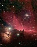 IC 434  et ses nébuleuses