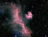 IC 2177 , la Nébuleuse de la Mouette