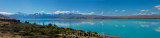 Mount Cook and Lake Pukaki panorama