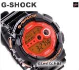 CASIO G-SHOCK SUPER LED X-LARGE FACE GD-100HC-1 GD-100HC-1DR HYER COLOR BLACK