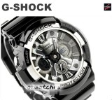 2013 CASIO G-SHOCK MOTORCYCLE SPORTS MOTIF GA-200 GA-200BW-1A GROSS BLACK