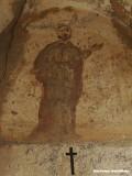 Petrus on a chapel near Gorbio, France