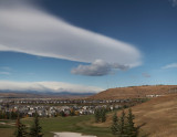 Interesting Clouds (Panorama)