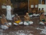 Sri MAV Swami welcome one of the adhyapaksas.JPG