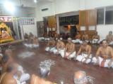 Sri vinjamur Raghavan swami and Dr Mav swami leading thiruvaimozhi gosthi