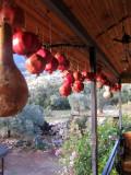 Pomegranates everywhere here