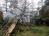 10/29/2012 Hurricane Sandy Whitman MA