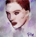 Expressionist Portrait  --  fmr