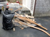Some of it was even left over from previous remodels!
