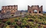 The Basilica Aspendos, Turkey