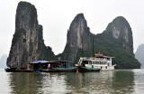 Floating Village, Ha Long 10 Junk,  Ha Long Bay, Vietnam