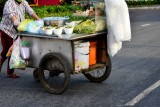 hot noodle soup on wheels, Saigon, Vietnam
