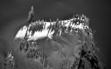 heavenly light, Cascade Mountains, Washington
