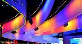 rainbow ribbons, Intel, CES, Las Vegas, Nevada