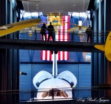 Space Shuttle, SR-71 Blackbird, Space Shuttle, Smithsonian National Air and Space Museum, Steven F. Udvar-Hazy Center