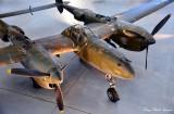 P-38 Lightning, National Air and Space Museum, Steven F. Udvar-Hazy Center