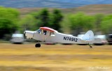 Super Cub landing, N74912, Warner Springs, California